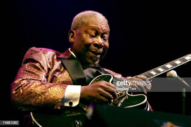 King during BB King Farewell Concert at Ahoy' in Rotterdam - September 15, 2006 at the Ahoy' in Rotterdam, Netherlands.