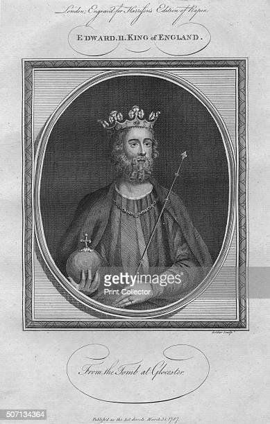 King Edward II 1787 From Harrison's Edition of Rapin's History of England by Paul Rapin de Thoyras [John Harrison London 1787] Artist Anon