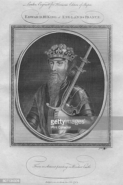 King Edward III 1785 From Harrison's Edition of Rapin's History of England by Paul Rapin de Thoyras [John Harrison London 1785] Artist Anon