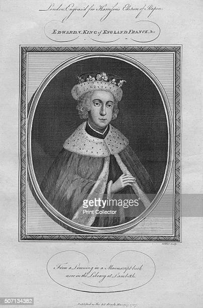 King Edward V 1787 From Harrison's Edition of Rapin's History of England by Paul Rapin de Thoyras [John Harrison London 1787] Artist Anon