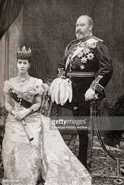 King Edward VII and Queen Alexandra Edward VII 1841 – 1910 King of the United Kingdom and the British Dominions and Emperor of India Alexandra of...