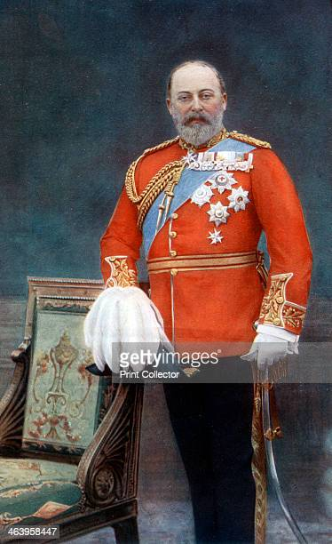 King Edward VII, early 20th century. Portrait of Edward VII .