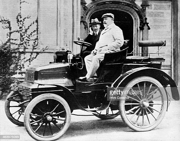 King Edward VII in Lord Montagu's 1899 Daimler 12hp 1900