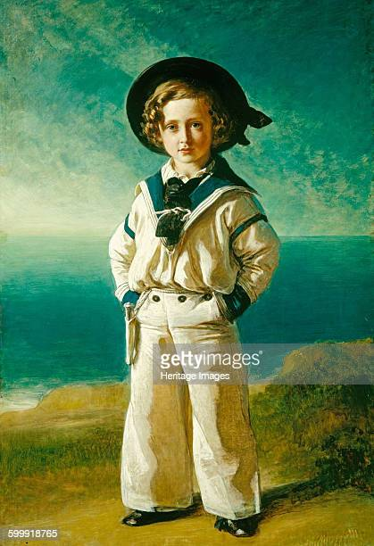 King Edward VII when Albert Edward Prince of Wales 1846 Found in the collection of Royal Collection London Artist Winterhalter Franz Xavier