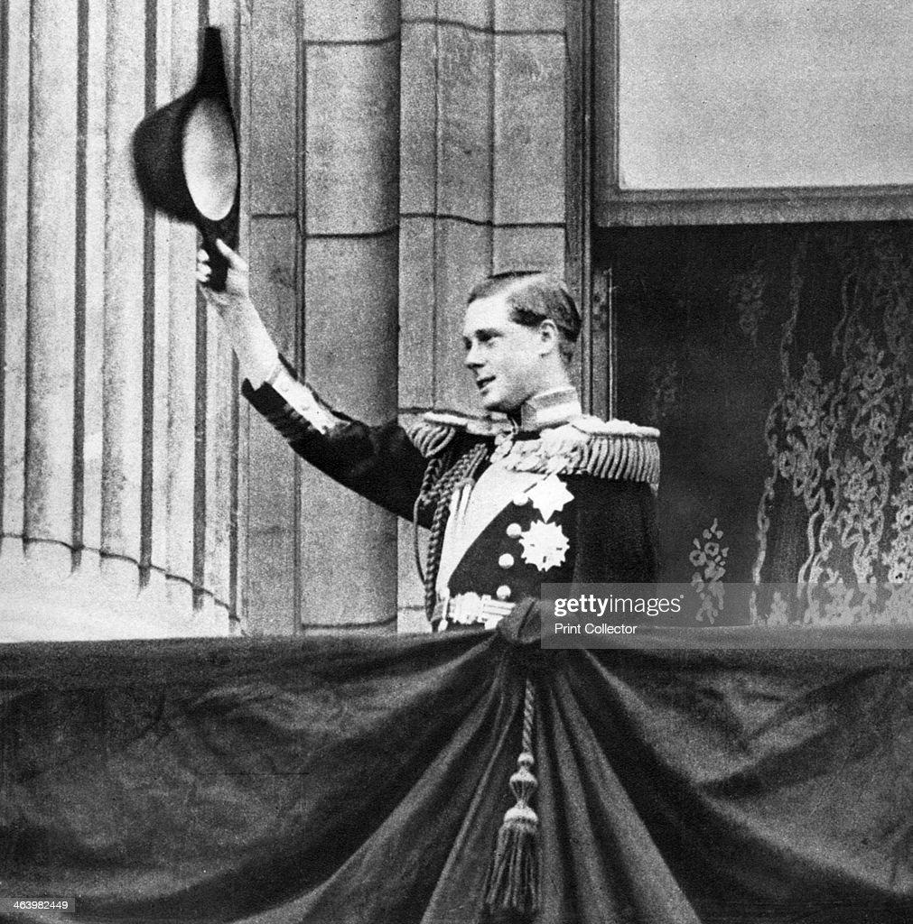 King Edward VIII, 1936. : News Photo