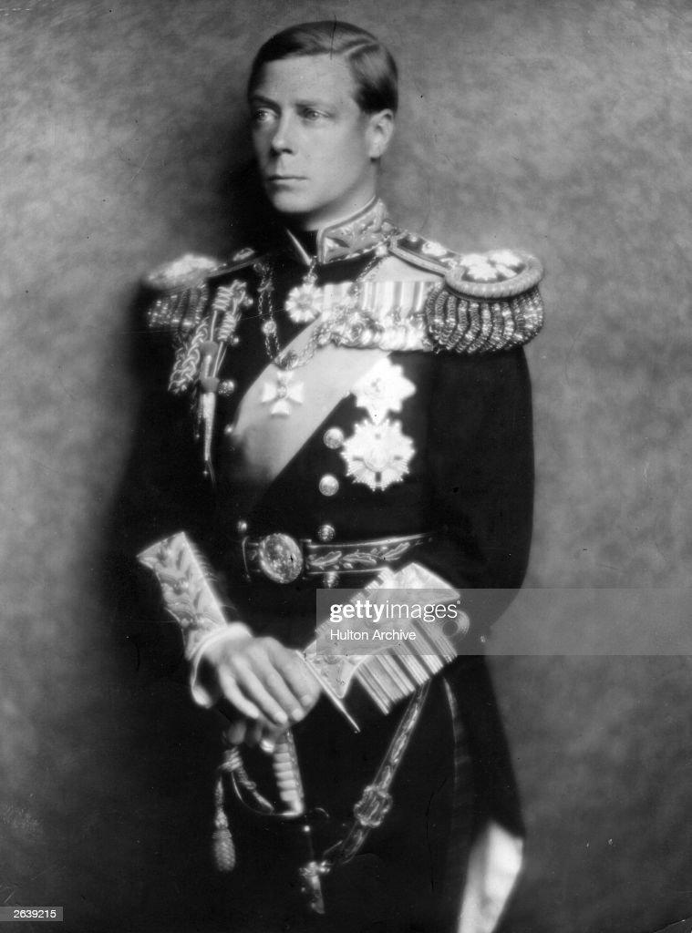 King Edward VIII : News Photo
