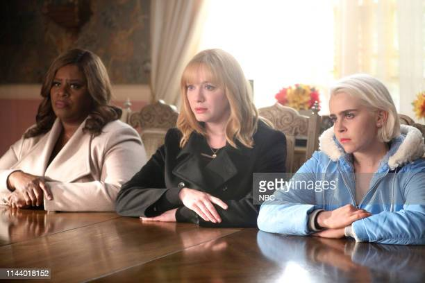 "King"" Episode 213 -- Pictured: Retta as Ruby Hill, Christina Hendricks as Beth Boland, Mae Whitman as Annie Marks --"