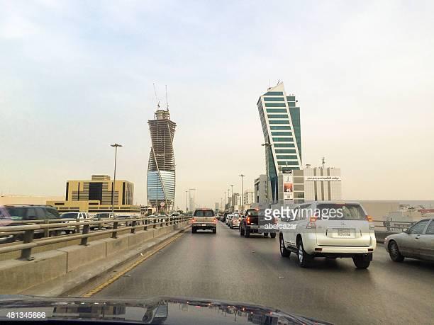 King Fahd Road in Riyadh