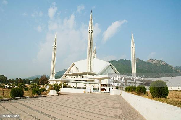 King Faisal Mosque By Turkish Architect Vedat Dalokay In Islamabad Islamabad Capital Territory Pakistan