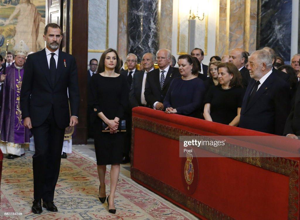 Alicia de Borbon-Parma Funeral in Madrid : News Photo