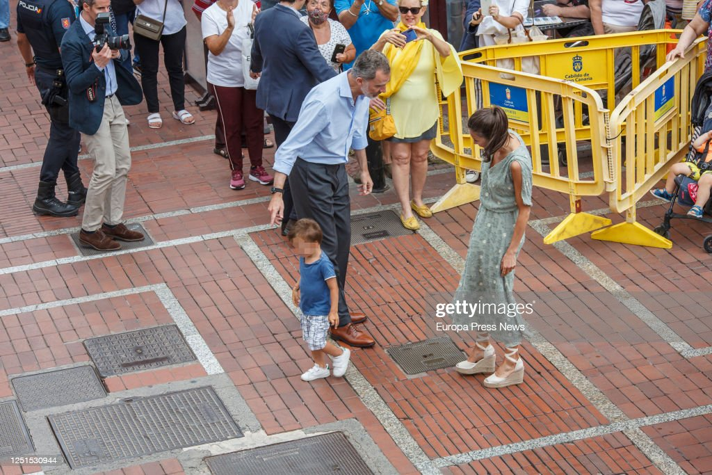 Spanish Royal Tour - Canary Islands : News Photo