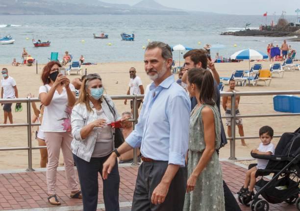 ESP: Spanish Royal Tour - Canary Islands