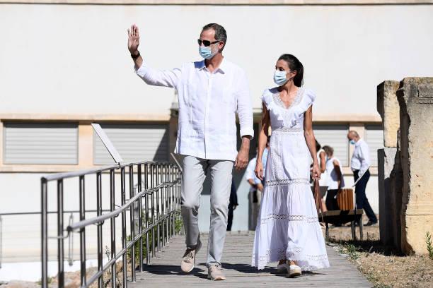 ESP: Spanish Royals Visit Ibiza