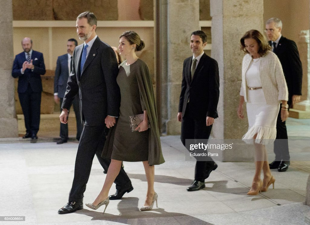 Spanish Royals Deliver National Design And Innovation Awards 2016 : News Photo