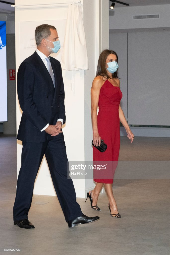 Spanish Royals Attend Dinner Honouring Journalism Awards Winners : Foto di attualità