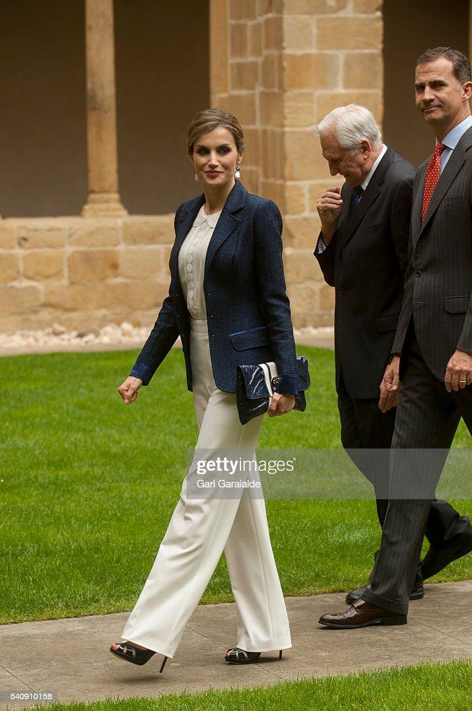 Spanish Royals Visit San Sebastian : News Photo