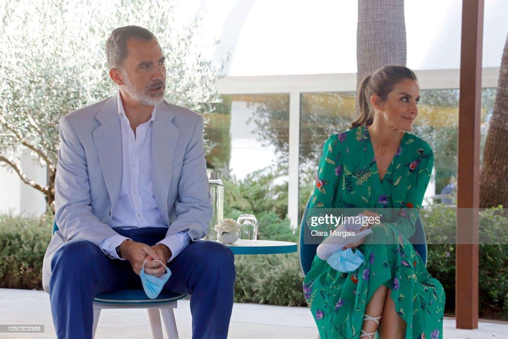 Spanish Royal Tour - Palma de Mallorca : Foto di attualità
