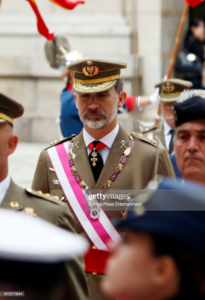 King Felipe Of Spain Attends The Celebration of The Real And Military Order Of San Hermenegildo