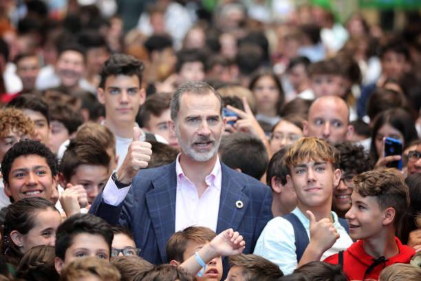 ESP: King Felipe Of Spain Inaugurates '#Imperdible_04' Festival