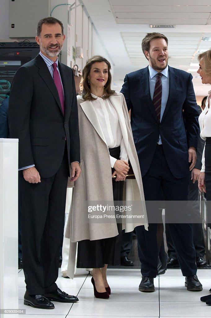 Spanish Royals Attend 40th Anniversary of Grupo Zeta : News Photo