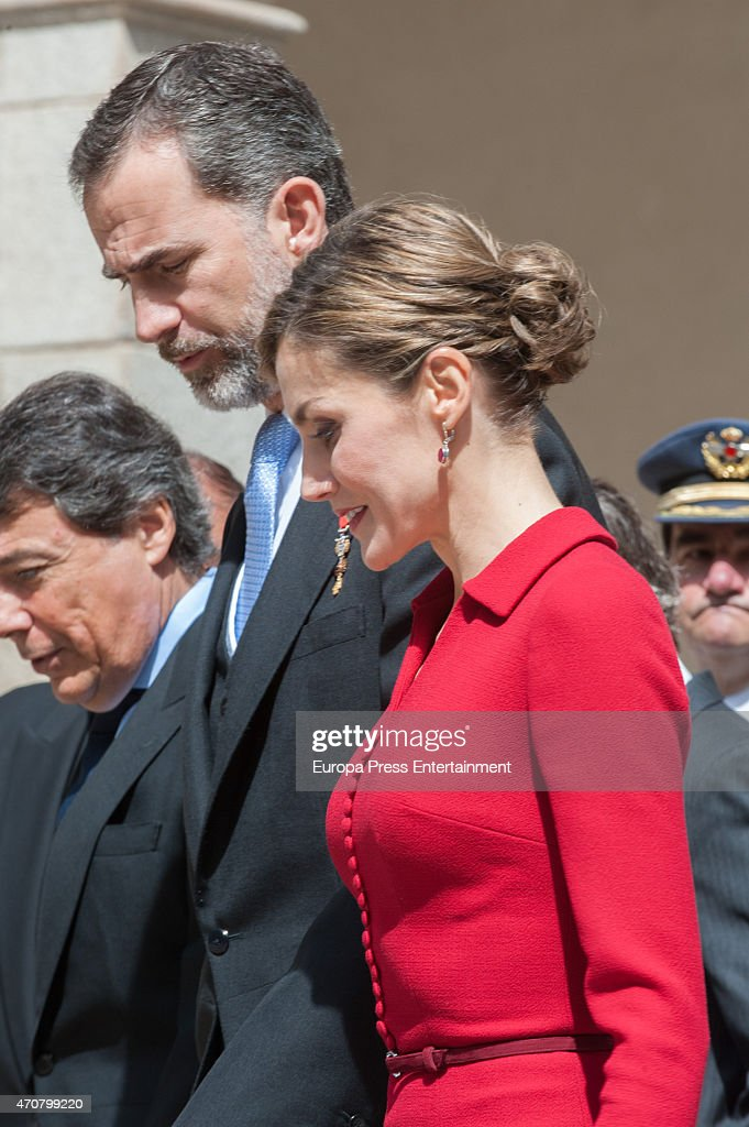 Spanish Royals Attend Cervantes Awards Ceremony