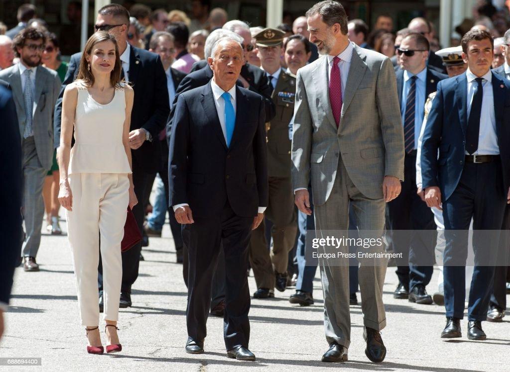 Spanish Royals Inugurate Books Fair 2017 : News Photo