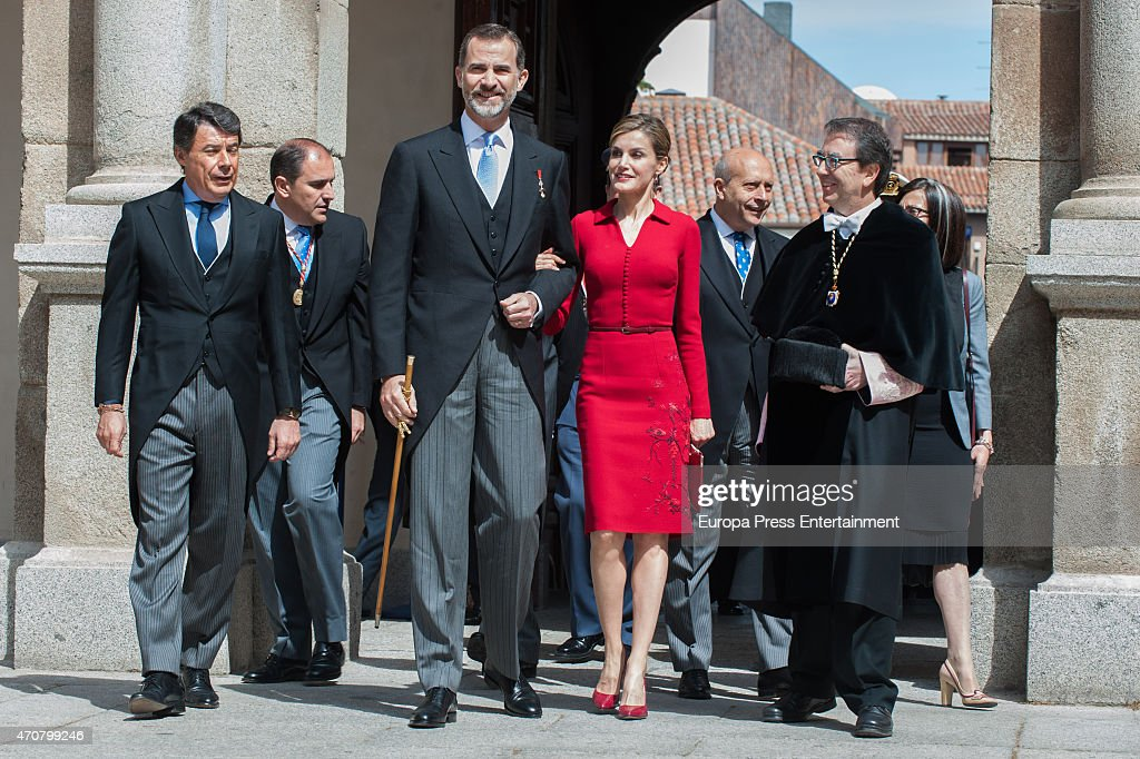 Spanish Royals Attend Cervantes Awards Ceremony : News Photo