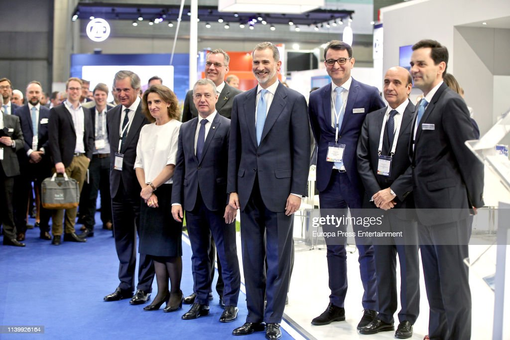 ESP: King Felipe Of Spain Attends 'Windeurope Conference & Exhibition 2019' Inauguration