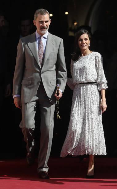 ESP: Spanish Royals Visit Almonte