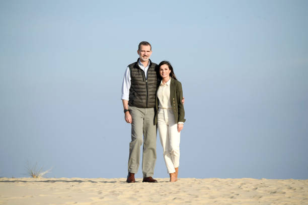 ESP: Spanish Royals Visit Doñana Natural Park