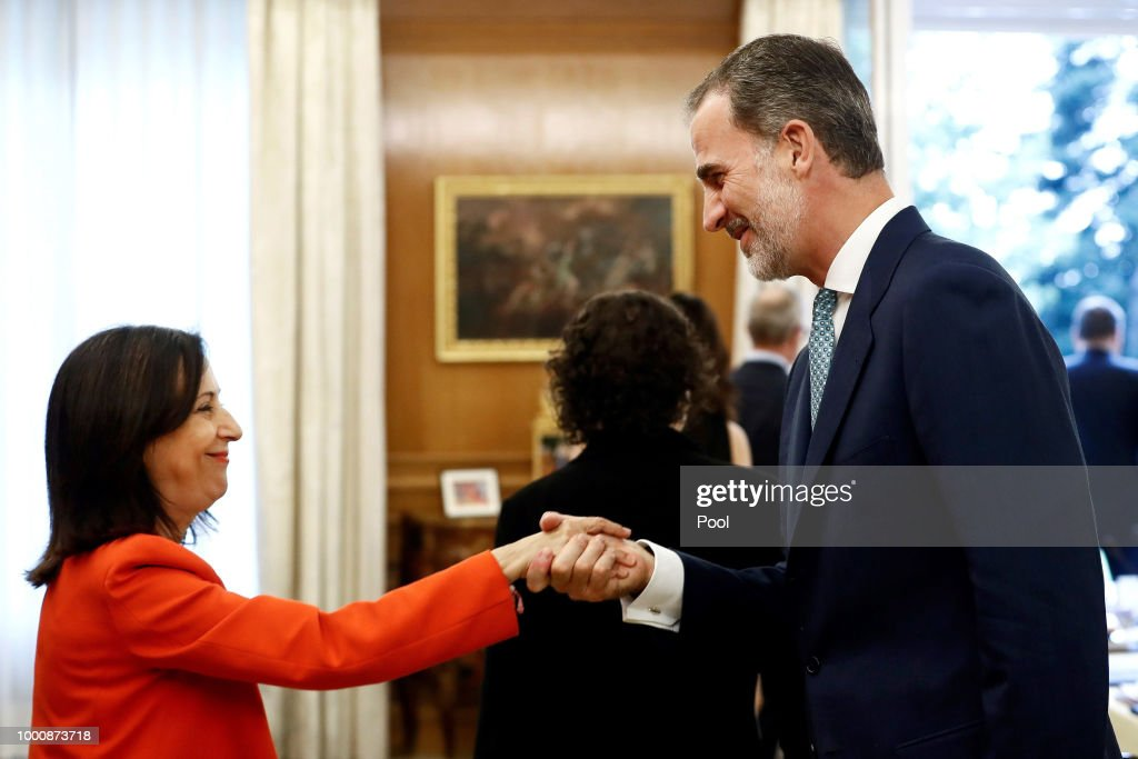 King Felipe of Spain Attends A Meeting With National Security Council