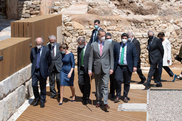 ESP: King Felipe Of Spain Inaugurates 'Molinete' Museum