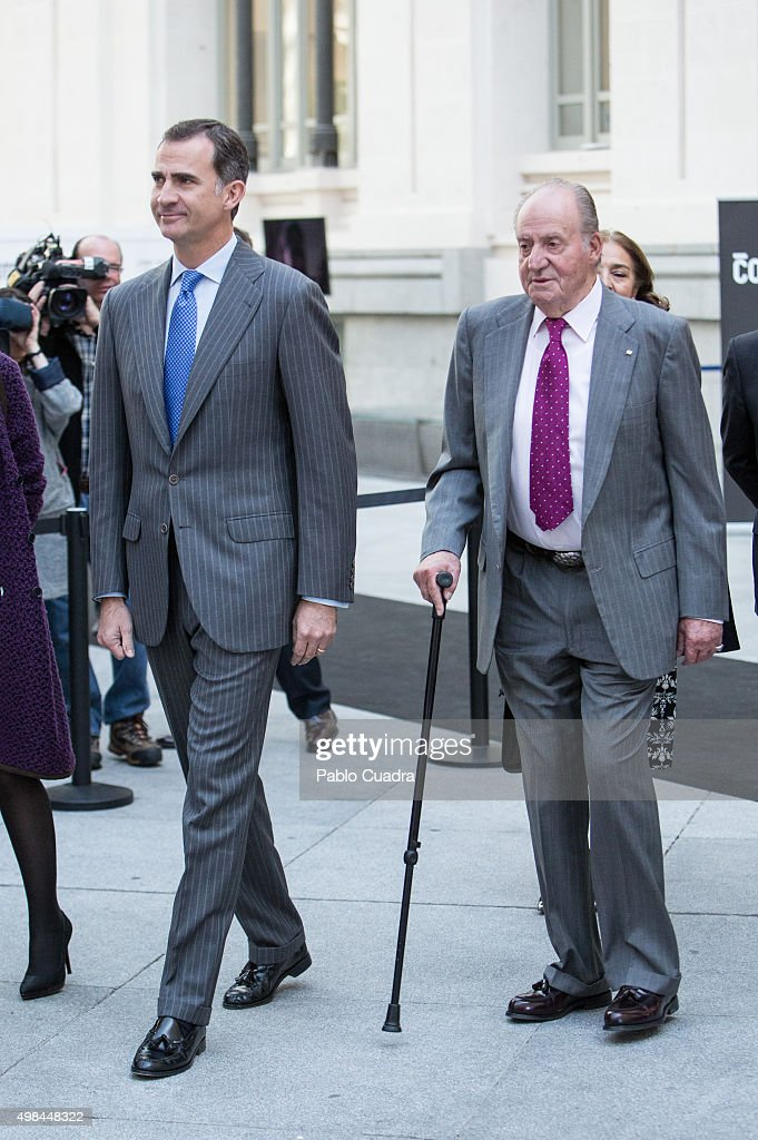 Spanish Royals Attend COTEC Event in Madrid : News Photo
