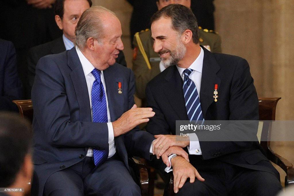 Spanish Royals Attend the 30th Anniversary of Spain Being Part of European Communities : News Photo