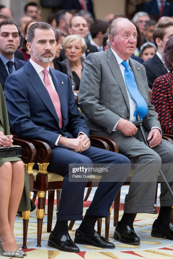 Spanish Royals Attend The National Sports Awards Ceremony : News Photo