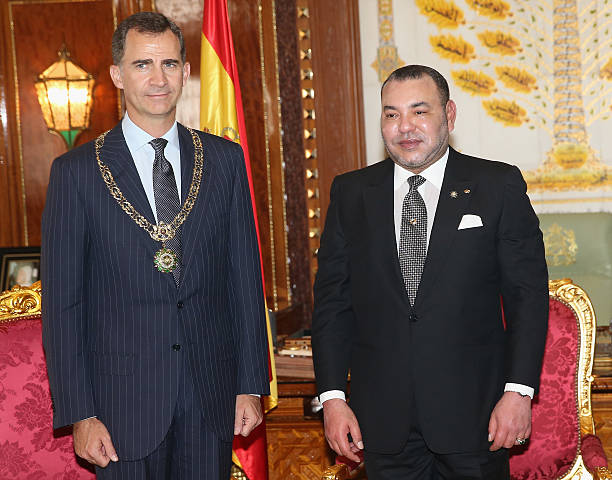 ¿Cuánto mide Mohamed VI? - Altura - Real height King-felipe-vi-of-spain-and-king-mohammed-vi-of-morocco-in-the-royal-picture-id452151412?k=6&m=452151412&s=612x612&w=0&h=LNK3S_l7HUAtbmvgWxnpzU8Q1msZuq-9dY-Q9YJXcnU=