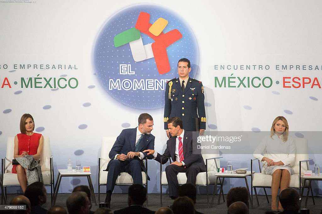King Felipe VI and Queen Letizia of Spain Visit Mexico - Day 2 : News Photo
