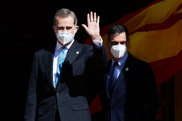 ESP: King Felipe Of Spain Attends 40th Anniversary Of 23-F