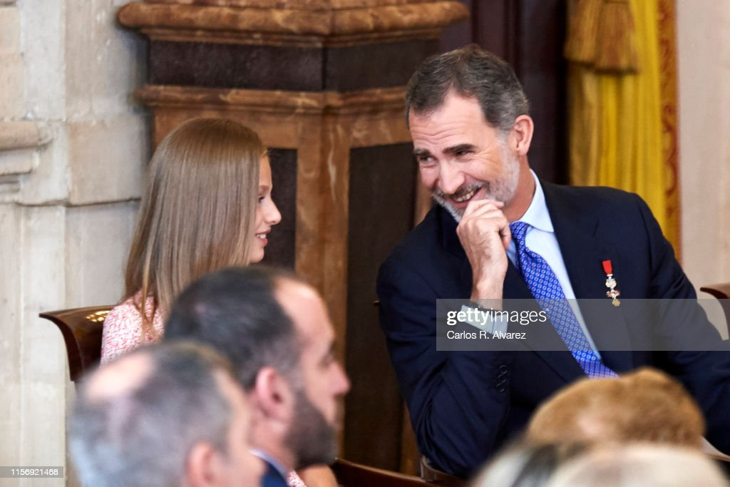 Spanish Royals Deliver 'Order of the Civil Merit' Awards : News Photo