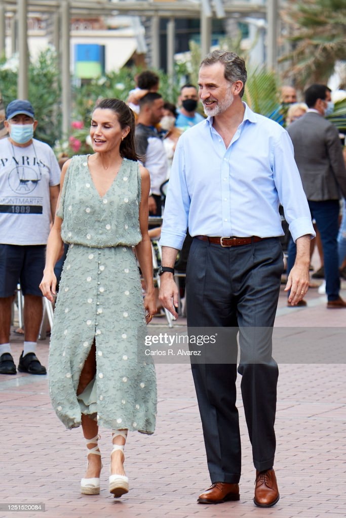 Spanish Royal Tour - Canary Islands : Foto di attualità