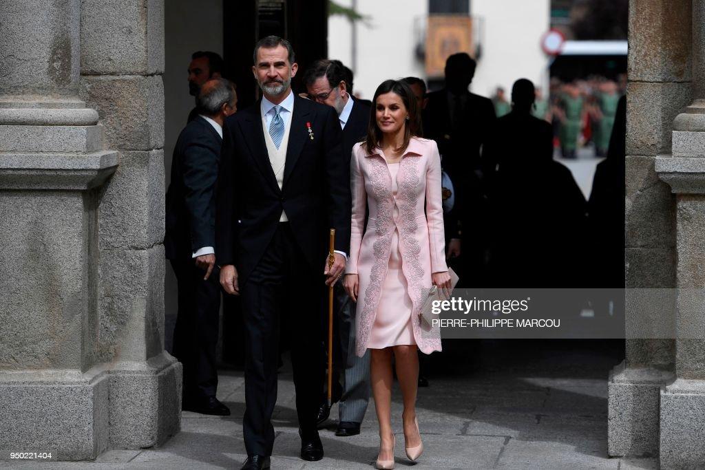 Spanish Royals Attend 'Miguel de Cervantes' Literature Awards