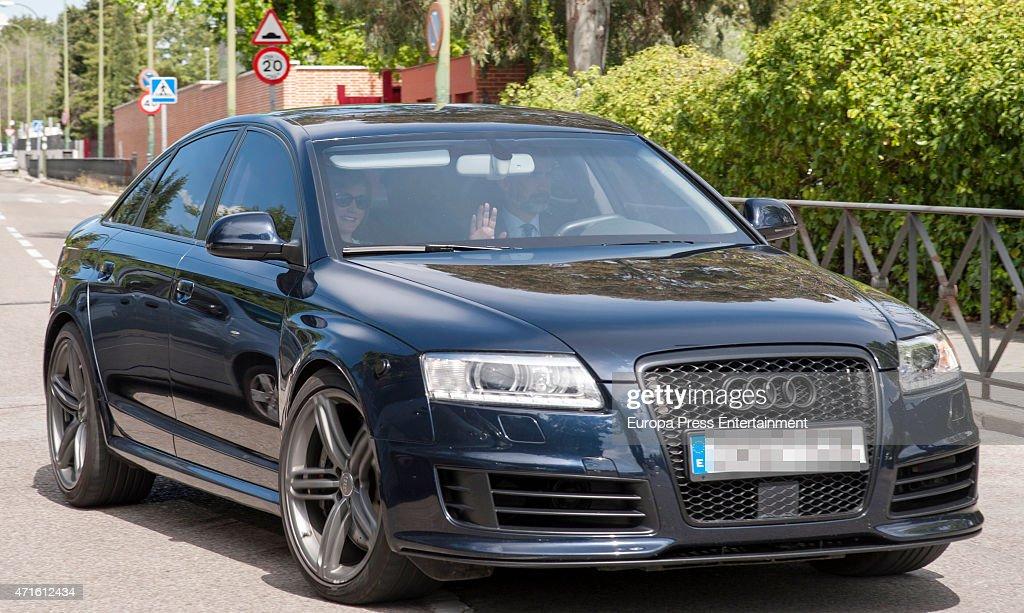Spanish Royals Sighting In Madrid - April 29, 2015 : News Photo
