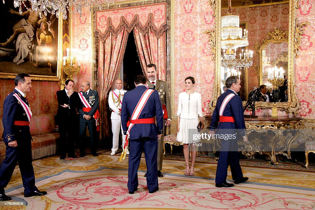 2015 Armed Forces Day Official Reception At The Royal Palace : News Photo