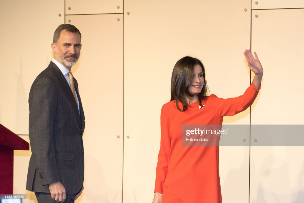 ARG: King Felipe II and Queen Letizia Visit Buenos Aires - Day 2