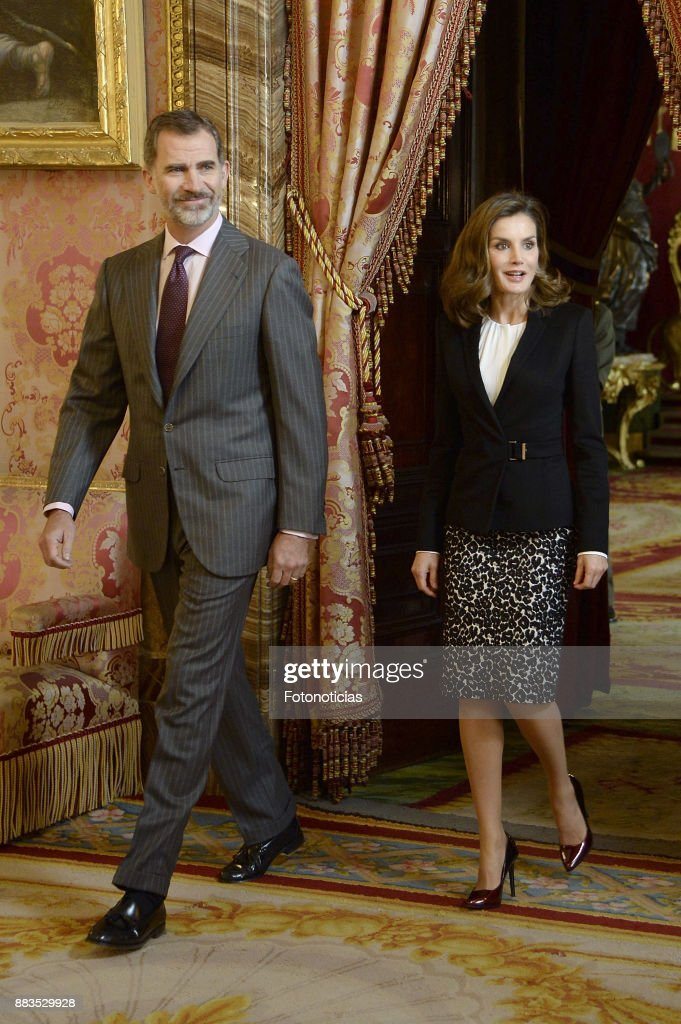 Spanish Royals Meets 'Princesa de Girona' Foundation