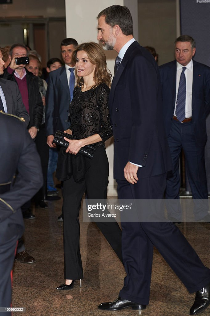 Spanish Royals Attend Tribute Concert For Terrorism Victims in Madrid : News Photo