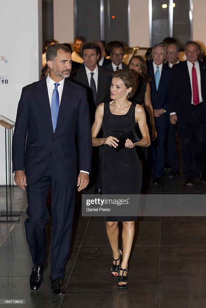 Spanish Royals Visit Malaga : News Photo