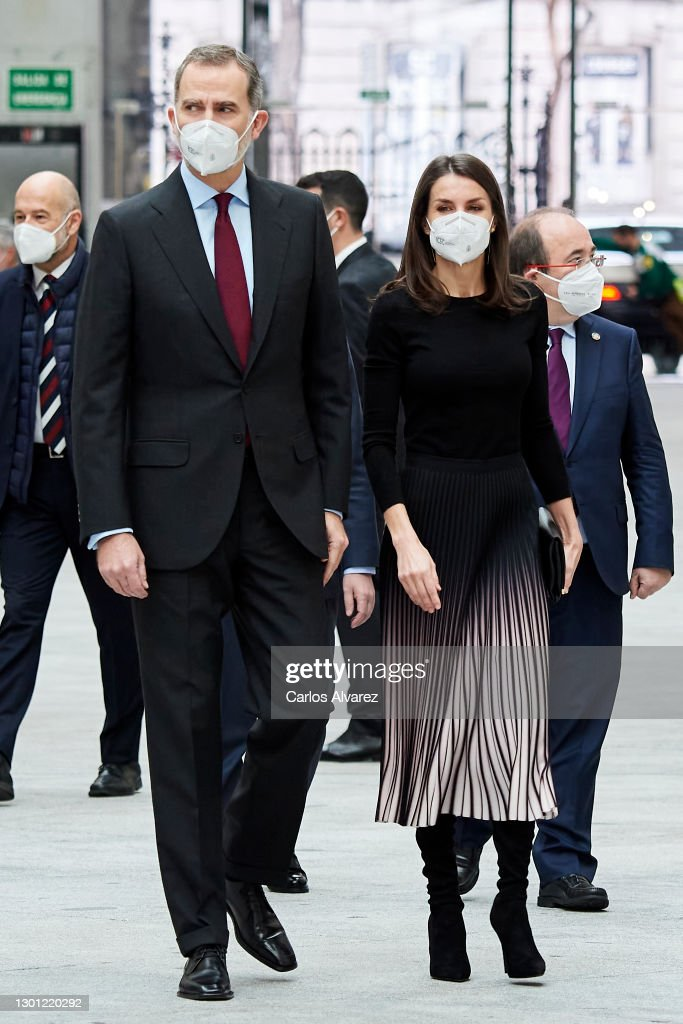 Spanish Royals Attend APM Journalism Awards 2020 and 2021 : News Photo