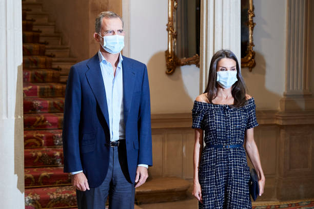 ESP: Spanish Royals Attend Cooperator's Day Act