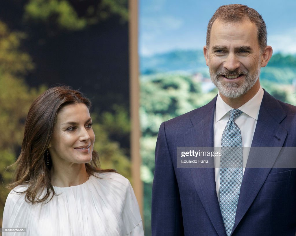 ESP: Spanish Royals Attend FITUR